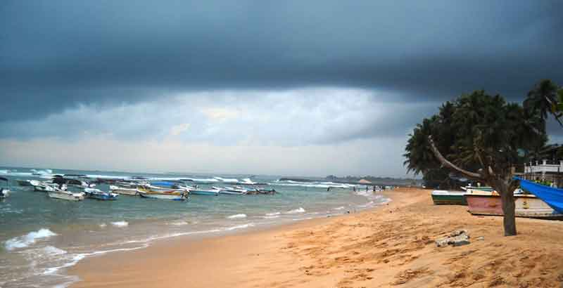 Southern Province Honeymoon Destinations - Coral viewing and Fishing boats in Hikkaduwa Beach