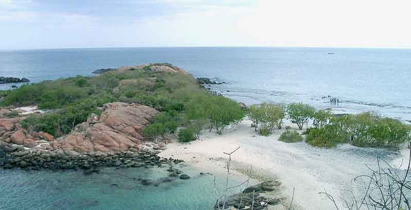 Estern Province Honeymoon Destinations - Pigeon Island Trincomalee