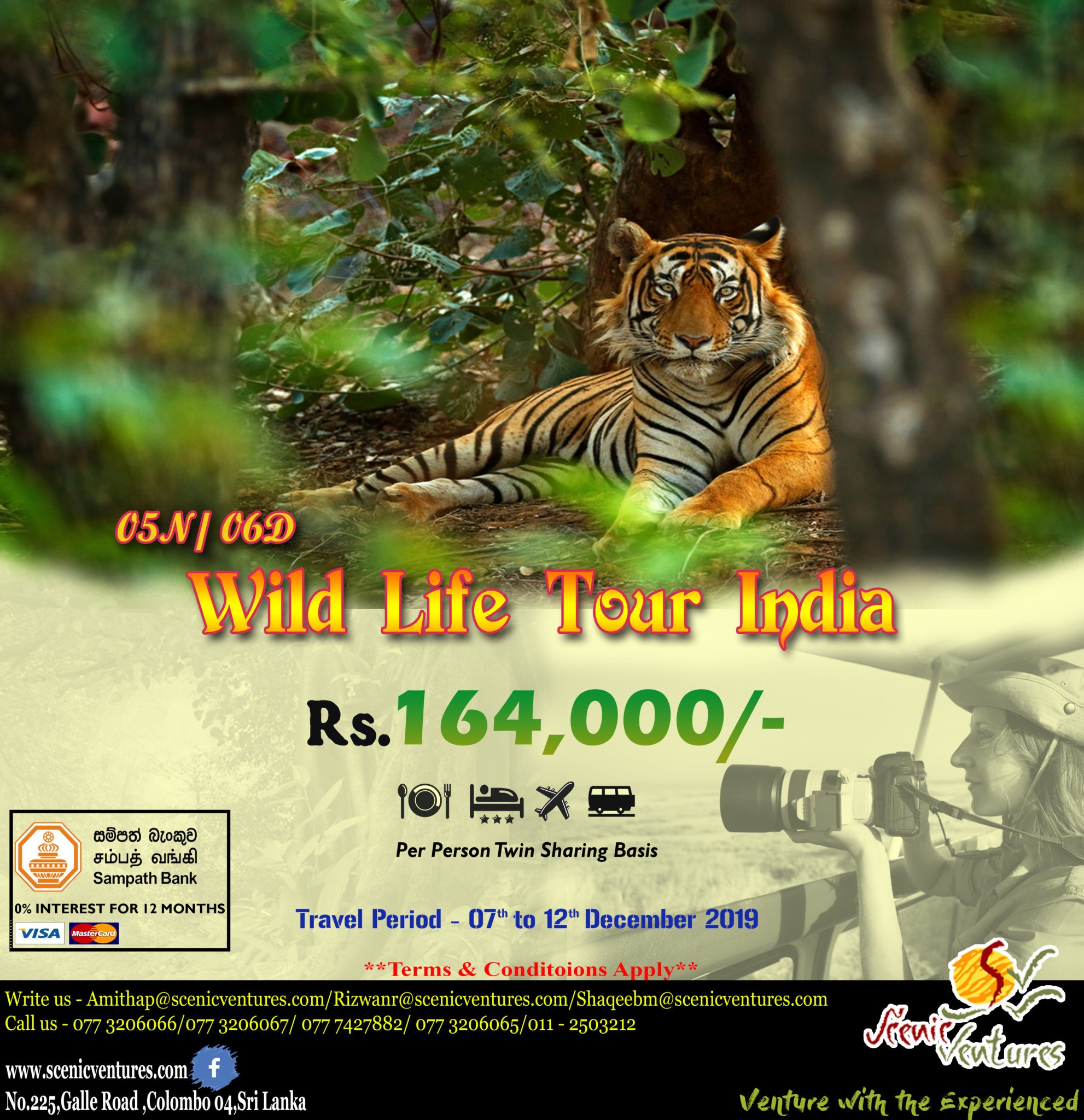 WILDLIFE TOUR INDIA